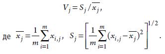 Крок 2. Коефіцієнт варіації